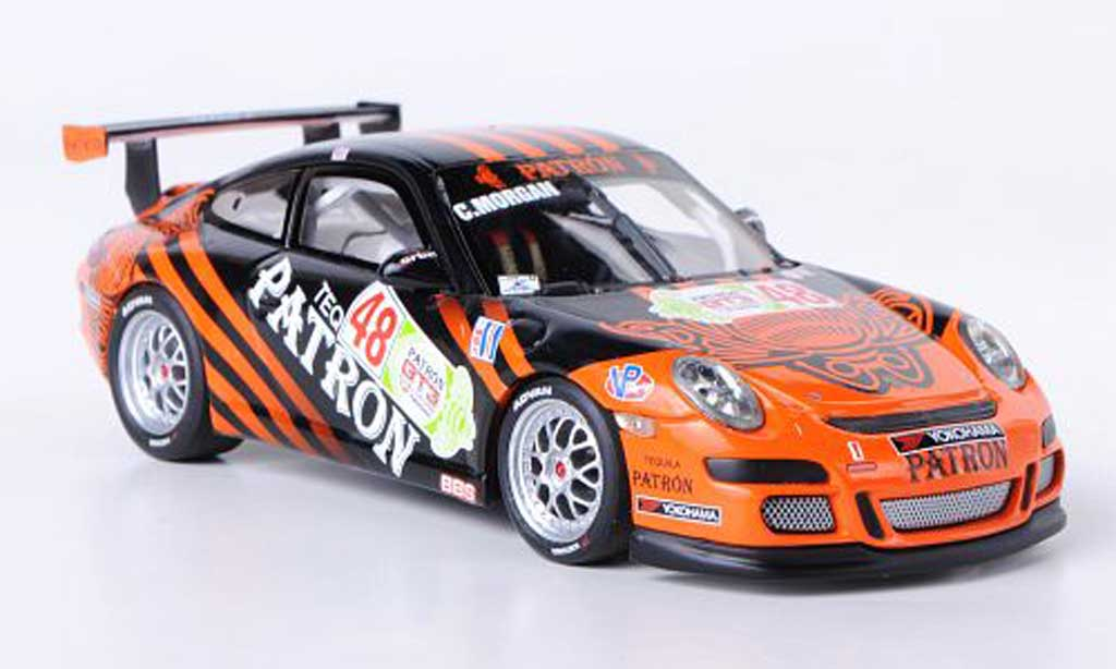 Porsche 997 GT3 CUP 1/43 Minichamps GT3 Cup 2009 No.48 C.Morgan IMSA GT3 Cup Challenge miniature