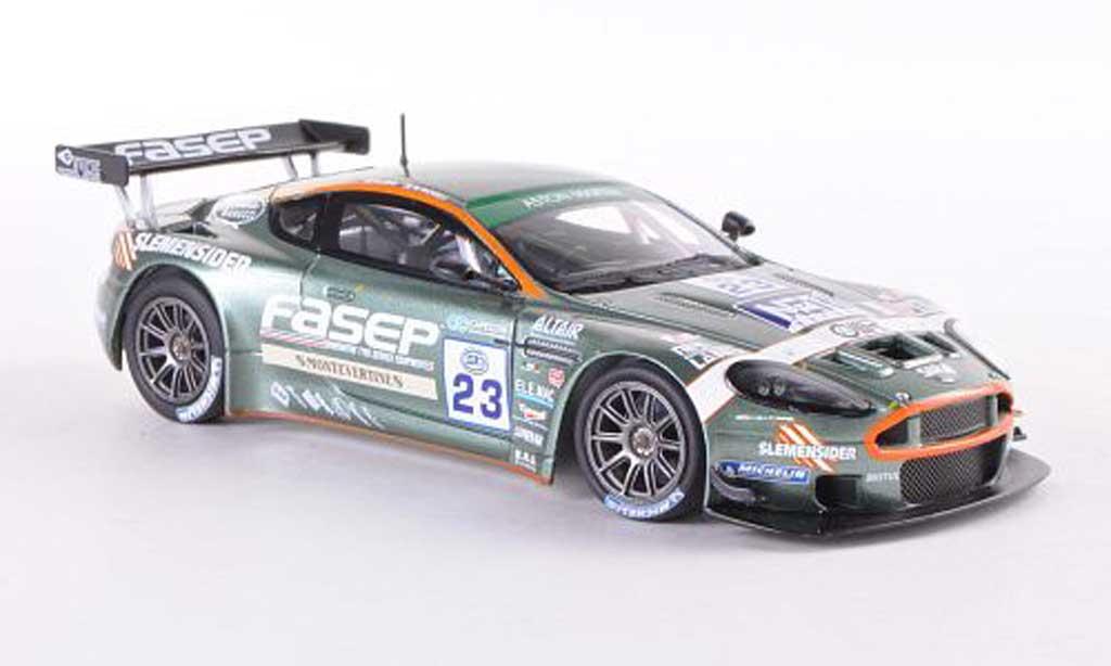 Aston Martin DBRS9 1/43 Minichamps No.23 Fasep Mugelli/Zani FIA GT3 Spa 2006 miniature