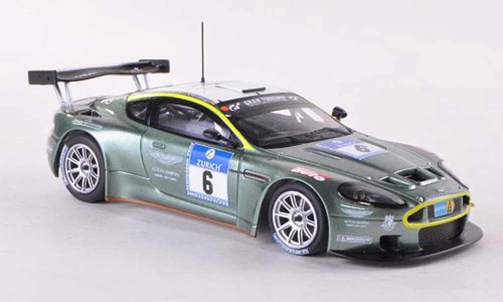 Aston Martin DBRS9 1/43 Minichamps No.6 24h Nurburgring 2008 T.Enge/R.Lechner/S.Mucke/K.Wendlinger diecast