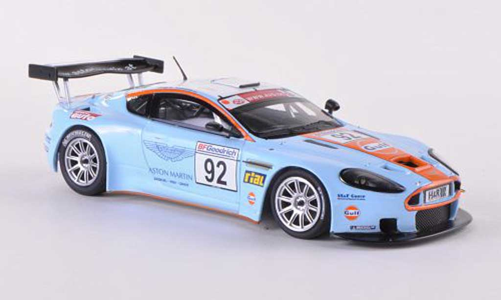 Aston Martin DBRS9 No.92 Gulf Enge/Lechner VLN Nurburgring 2008 Minichamps. Aston Martin DBRS9 No.92 Gulf Enge/Lechner VLN Nurburgring 2008 Nurburgring modellauto 1/43