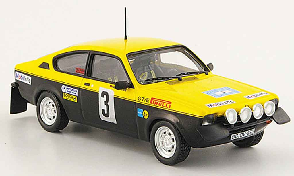 Opel Kadett C 1/43 Trofeu e no.3 sachs winterrallye 1977 miniature