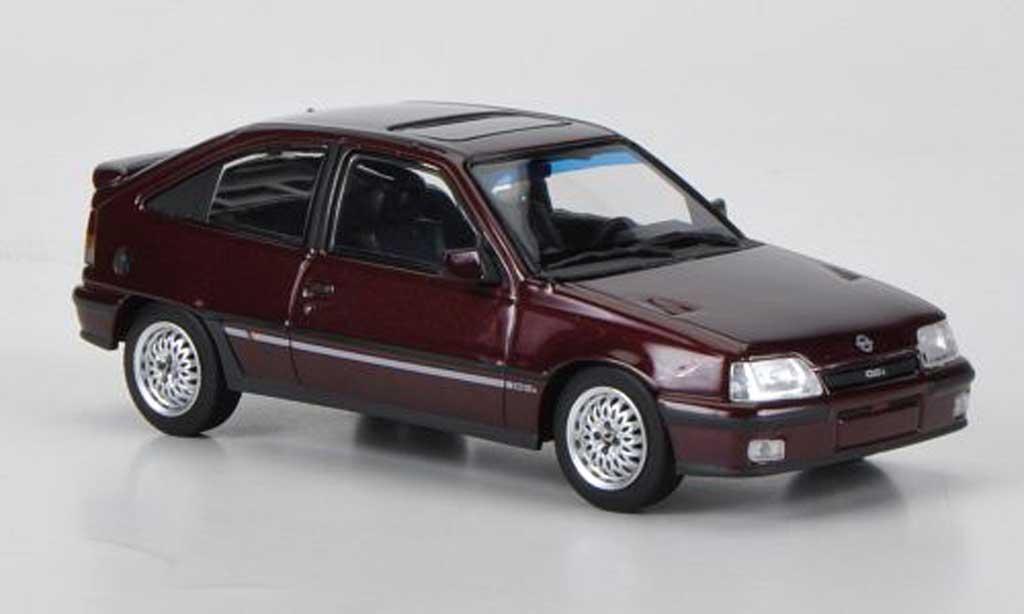 Opel Kadett E 1/43 Minichamps GSi rouge 1989 miniature