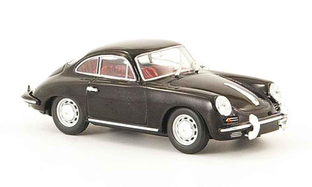 Porsche 356 1963 1/43 Minichamps C Coupe noire miniature