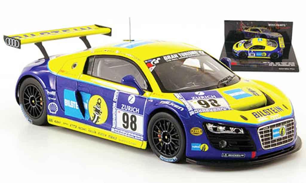 Audi R8 2009 1/43 Minichamps LMS No.98 Bilstein 24h Nurburgring diecast