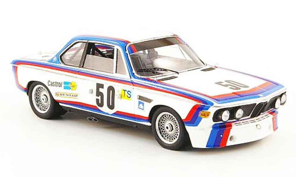 Bmw 3.0 CSL 1/43 Spark No.50 Amon Stuck 24h Le Mans 1973 diecast model cars