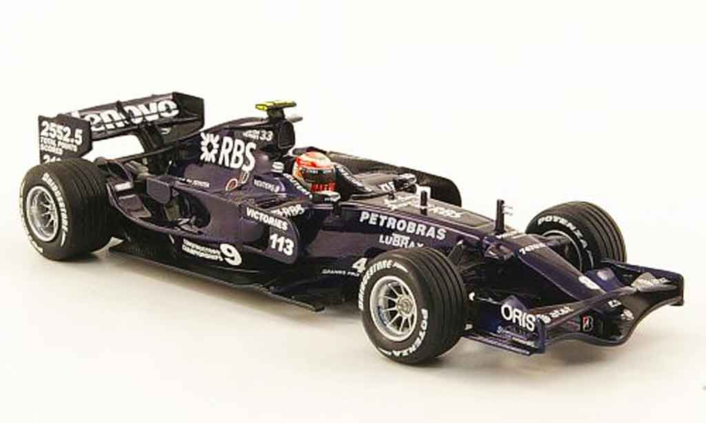 Toyota F1 1/43 Minichamps williams fw 30 no.8 test jerez 2008 miniature