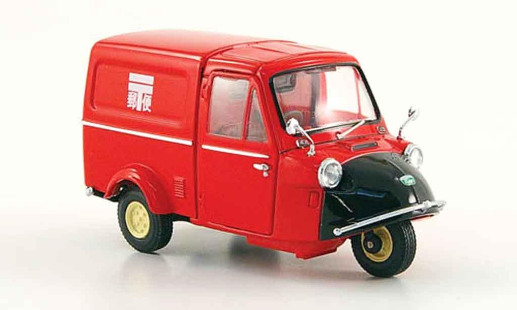 Daihatsu Midget 1/43 Ebbro Kasten Post rouge noire 1961 miniature