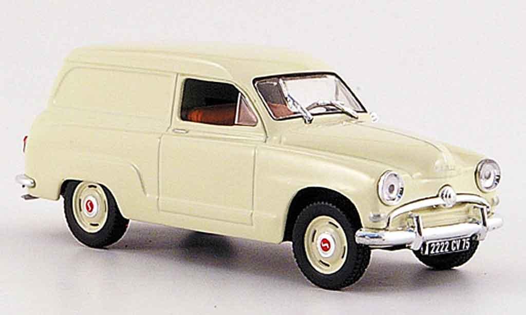 Simca Aronde 1/43 Norev kasten beige 1954 miniature