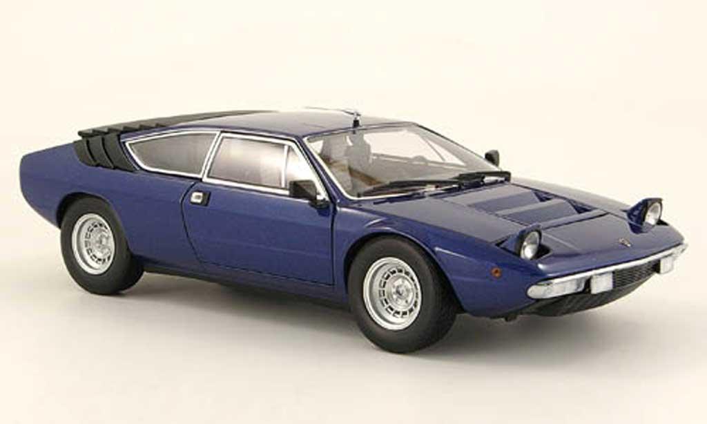 Lamborghini Urraco 1/18 Kyosho p250 bleu diecast model cars