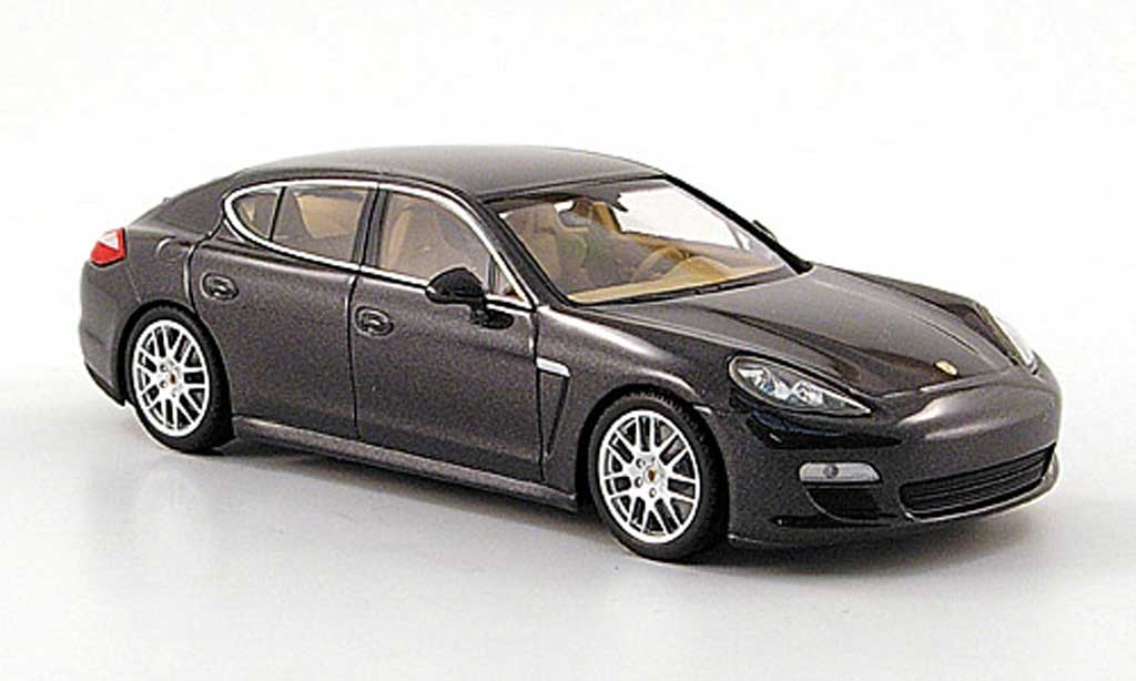 porsche panamera s grau 2009 minichamps modellauto 1 43 kaufen verkauf modellauto online. Black Bedroom Furniture Sets. Home Design Ideas