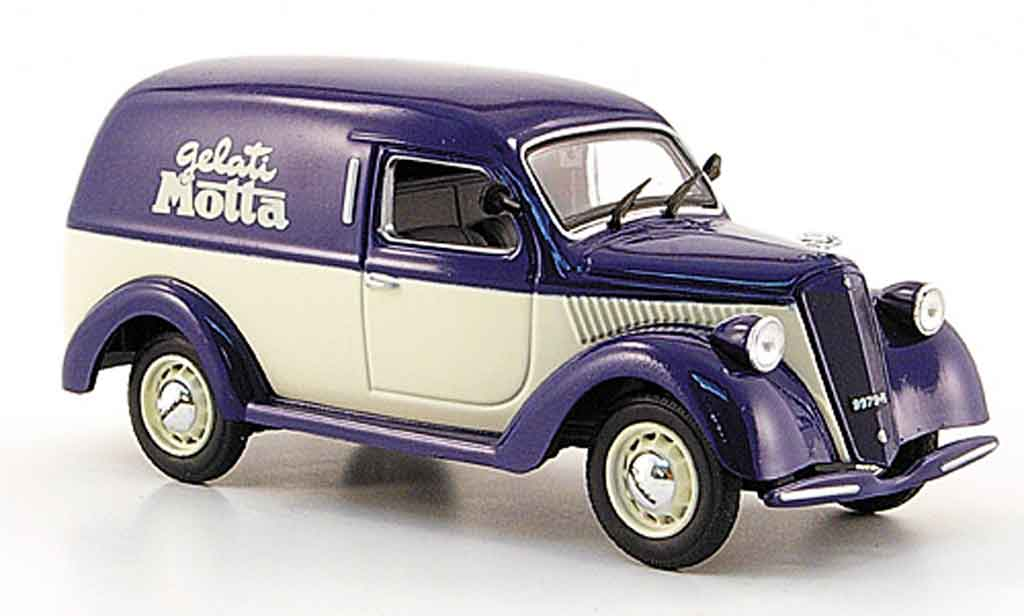 Lancia Ardea 1/43 Starline 800 furgoncino bleu blanche gelati motta 1951 miniature