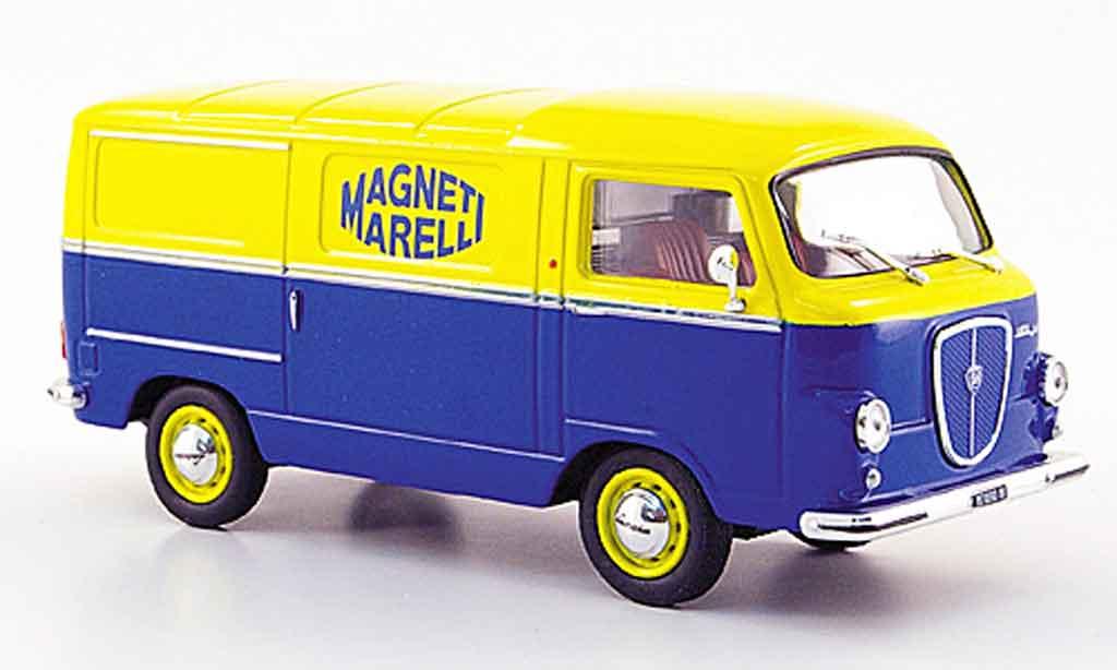 Lancia Jolly 1/43 Starline bleu jaune magneti marelli 1962 miniature