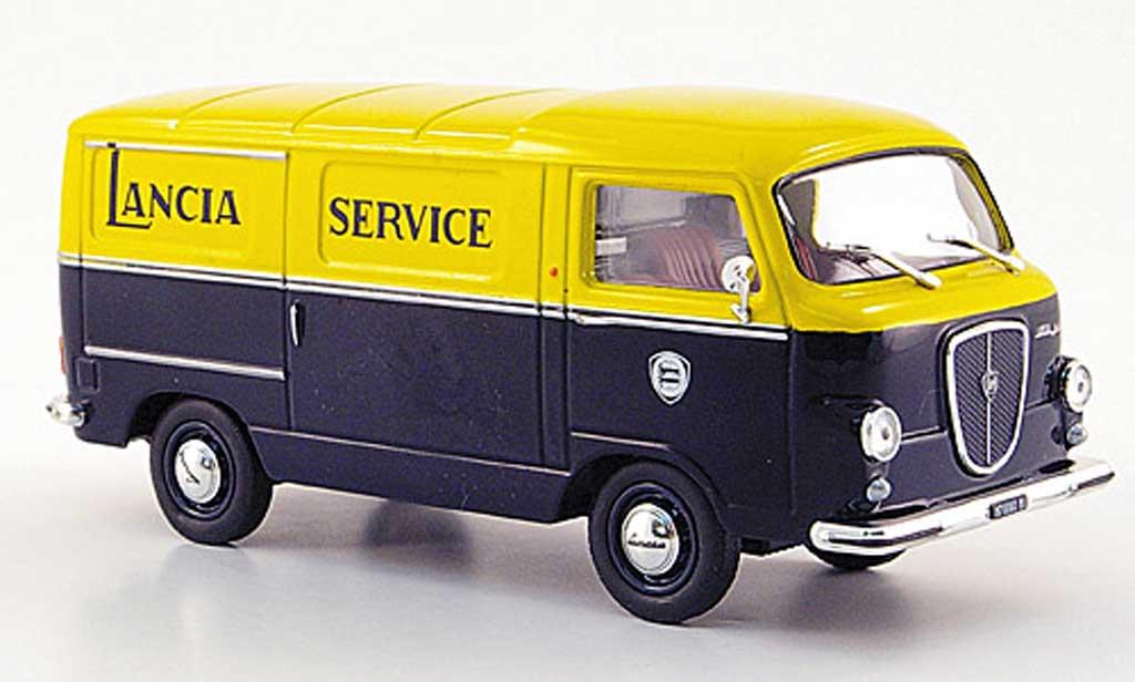 Lancia Jolly 1/43 Starline grun/jaune Service 1962 miniature