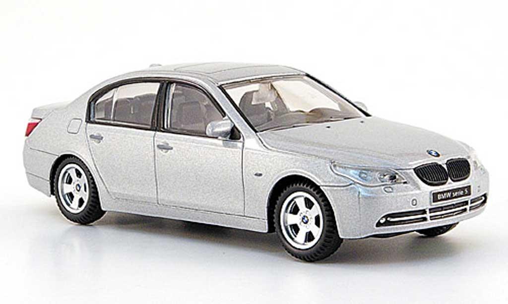 Bmw 520 E60 1/43 Mondo Motors d grey diecast model cars