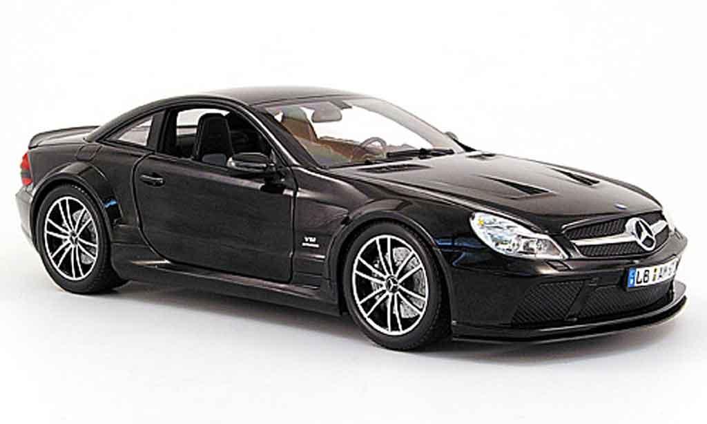 Mercedes Classe SL 65 1/18 Minichamps 65 amg black series (r230) noire 2009 miniature
