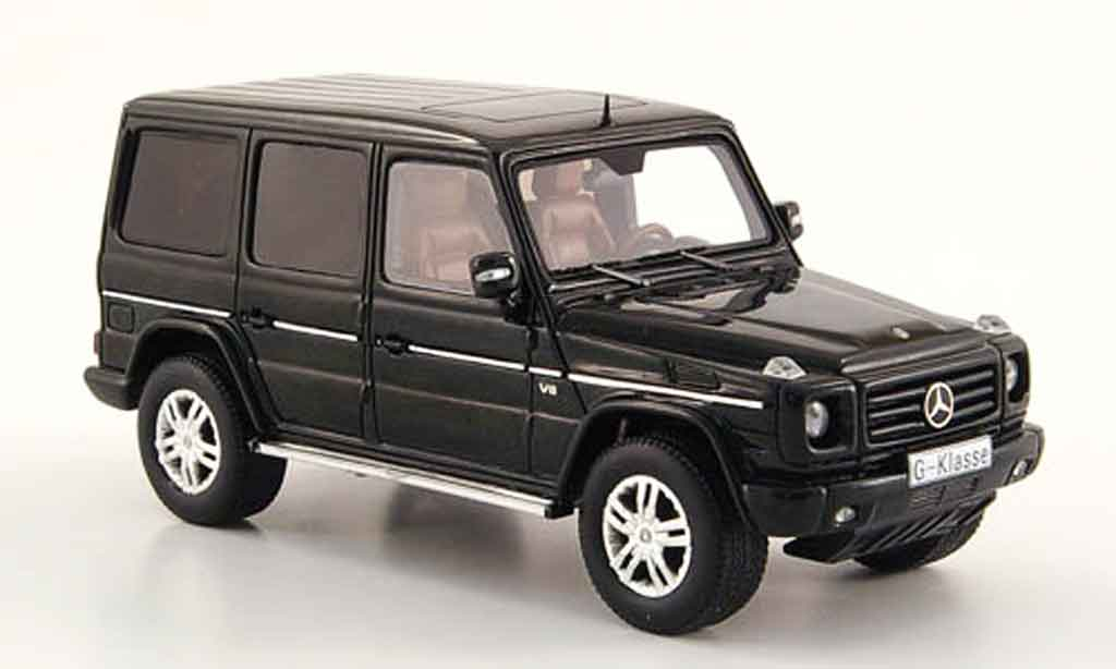Mercedes Classe G 1/43 Spark 500 (W 463) noire 2009 miniature