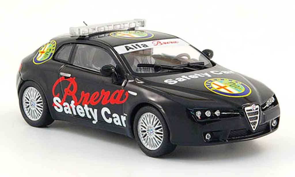 Alfa Romeo Brera 1/43 M4 safety car miniature