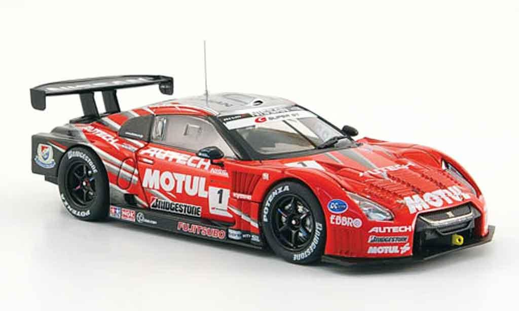 Nissan Skyline R35 1/43 Ebbro JGTC GT R No.1 Motul Autech Super GT 500 2009 diecast