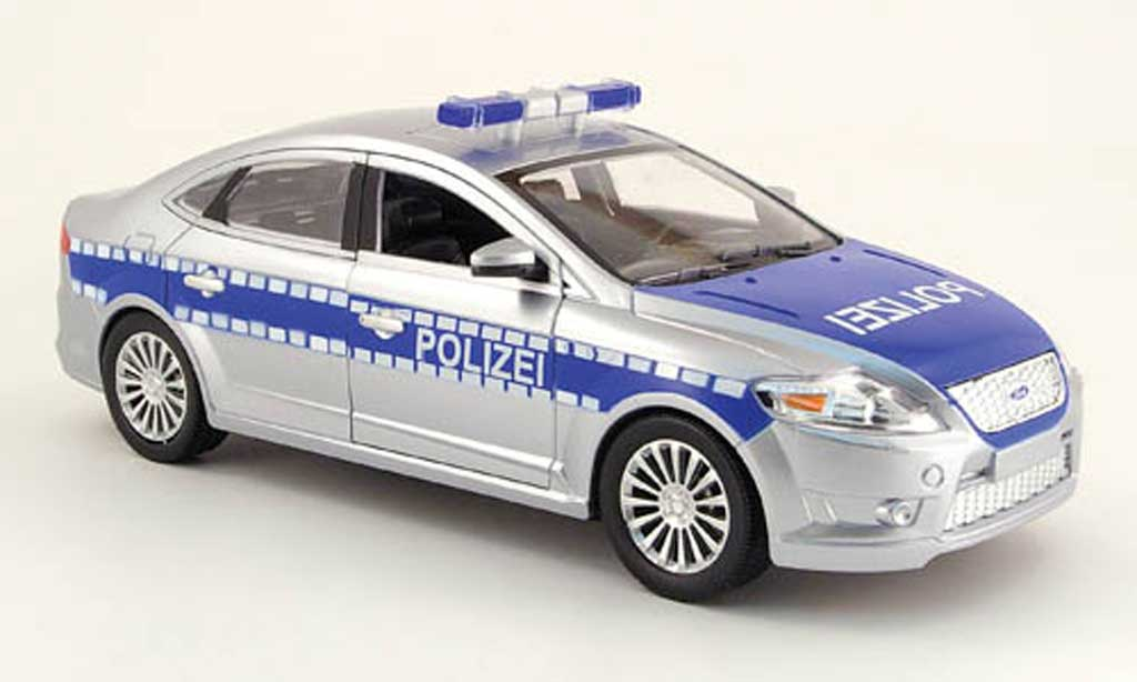 ford mondeo polizei powco modellauto 1 18 kaufen verkauf. Black Bedroom Furniture Sets. Home Design Ideas