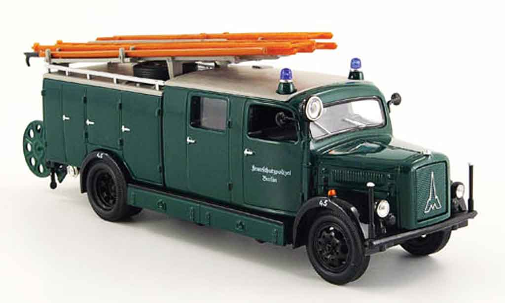 Magirus SLG 1/43 Yat Ming S 3000 Feuerschutz. Berlin MCW 1941 miniature