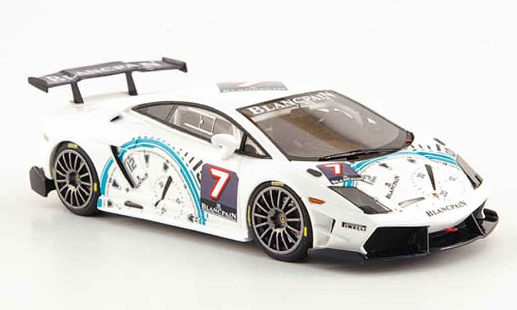 Lamborghini Gallardo 1/43 Look Smart super trofeo no.7 blancpain 2009 miniature