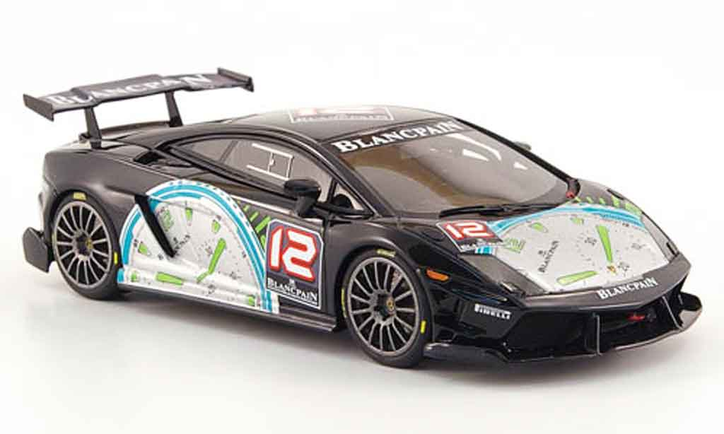 Lamborghini Gallardo 1/43 Look Smart super trofeo no.12 blancpain 2009 miniature