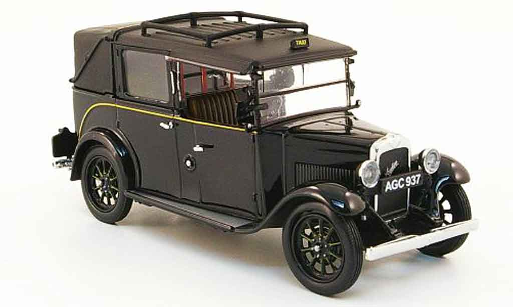 Austin Low Loader 1/43 Oxford Taxi noire miniature