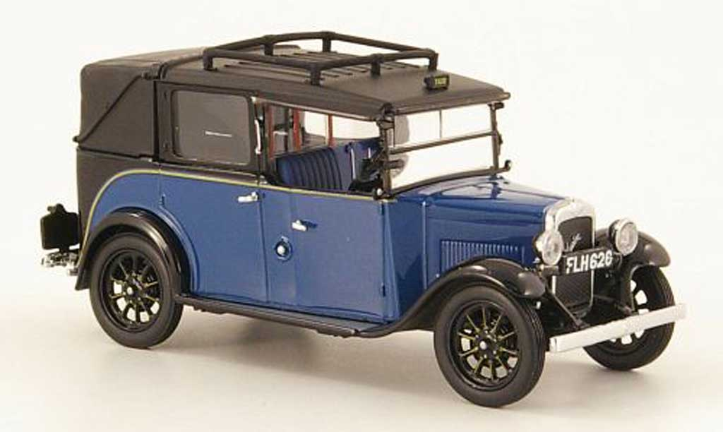 Austin Low Loader 1/43 Oxford Taxi bleu/noire Taxi (GB) miniature