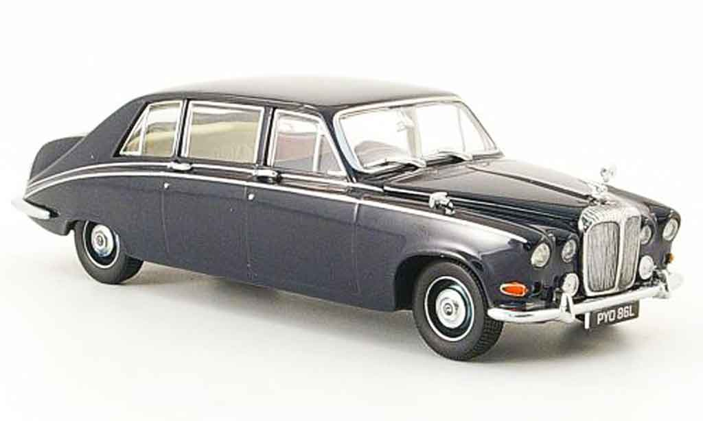 Daimler DS 420 1/43 Oxford bleu miniature