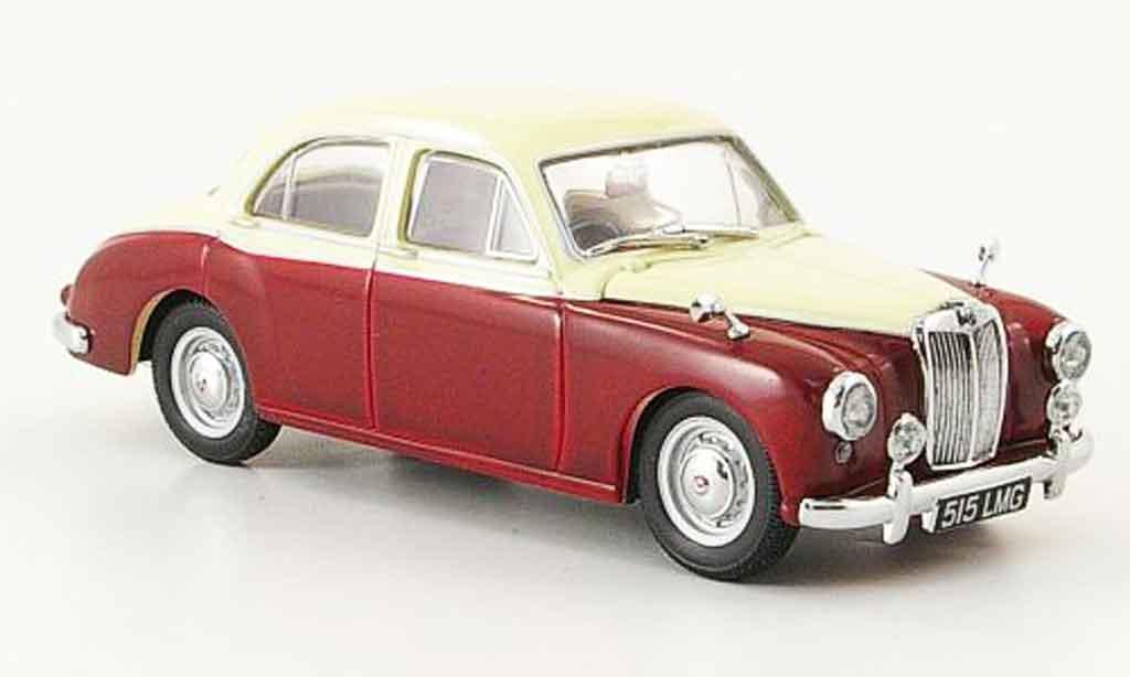 MG ZB 1/43 Oxford Varitone rouge beige miniature