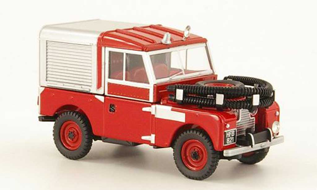 Land Rover 88 1/43 Oxford Series 1 Fire Appliance pompier (GB) miniature
