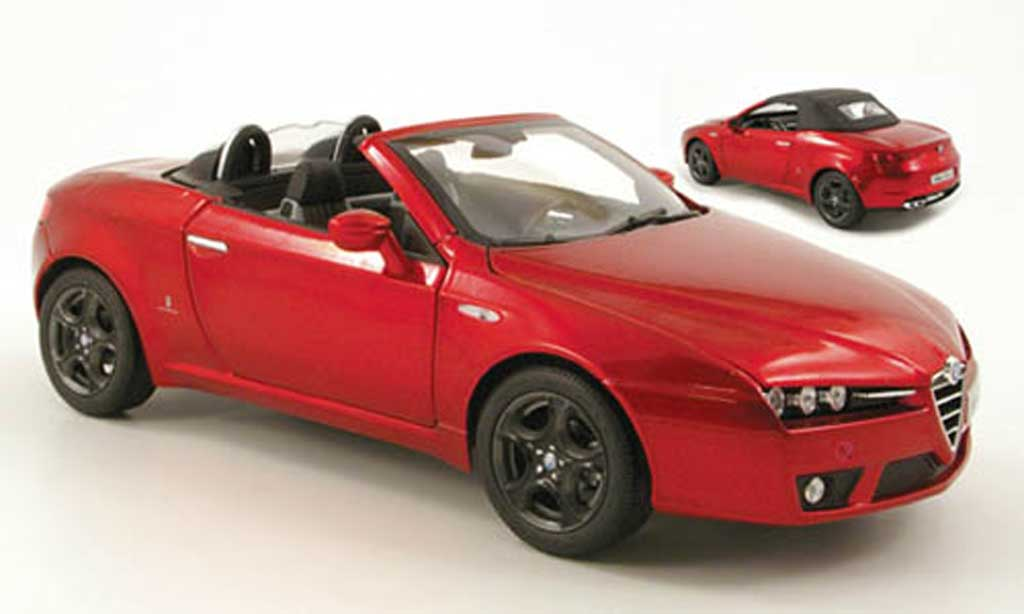 Alfa Romeo Spider red 2006 Norev. Alfa Romeo Spider red 2006 miniature 1/18
