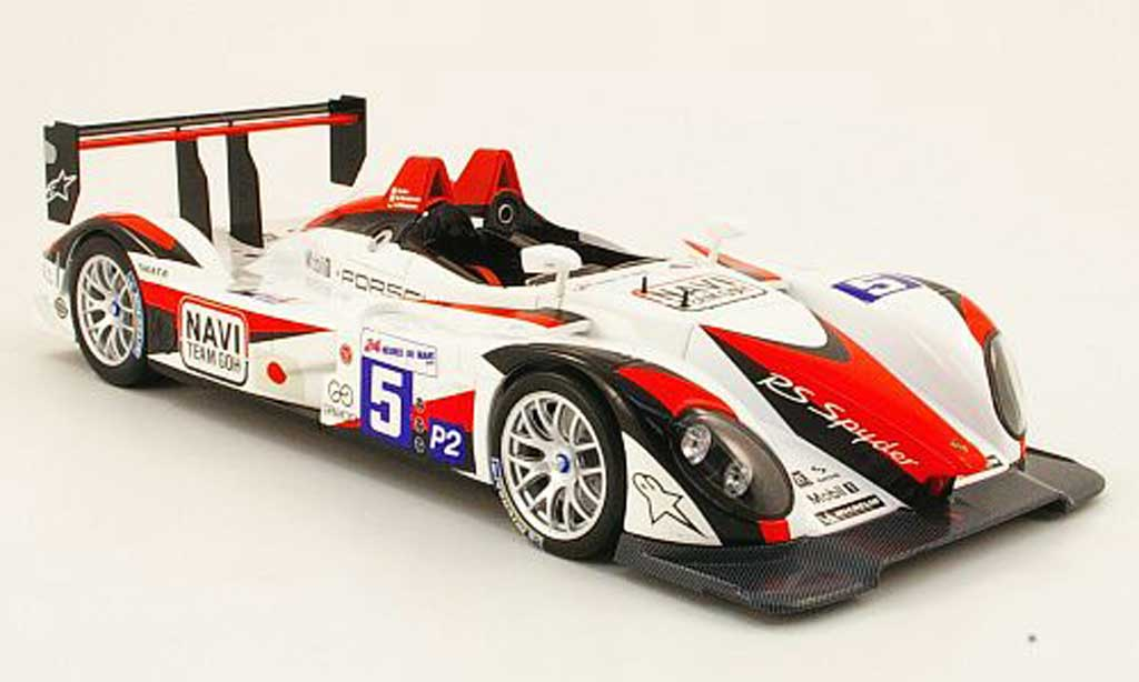 Porsche RS Spyder 1/18 Norev no.5 navi team goh 24h le mans 2009 diecast model cars