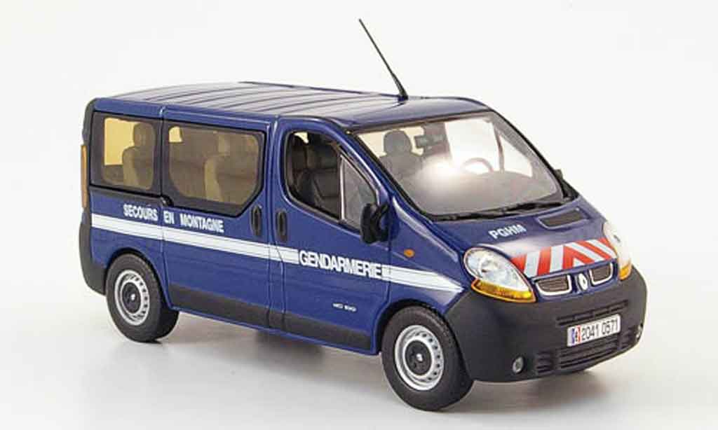 Renault Trafic 1/43 Norev gendarmerie secours en montagne 2004 diecast