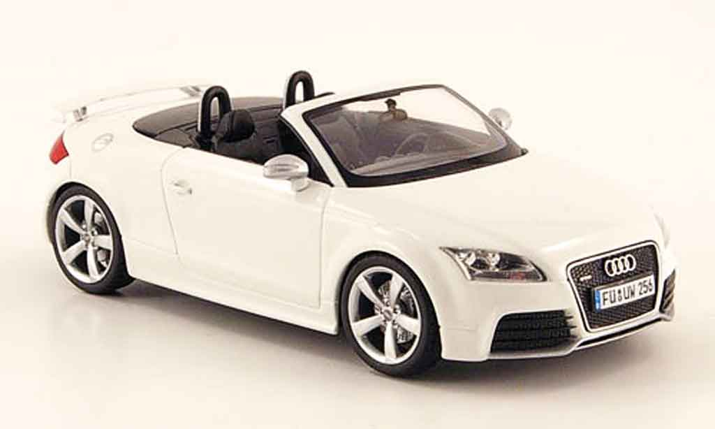 audi tt rs roadster weiss 2009 schuco modellauto 1 43. Black Bedroom Furniture Sets. Home Design Ideas
