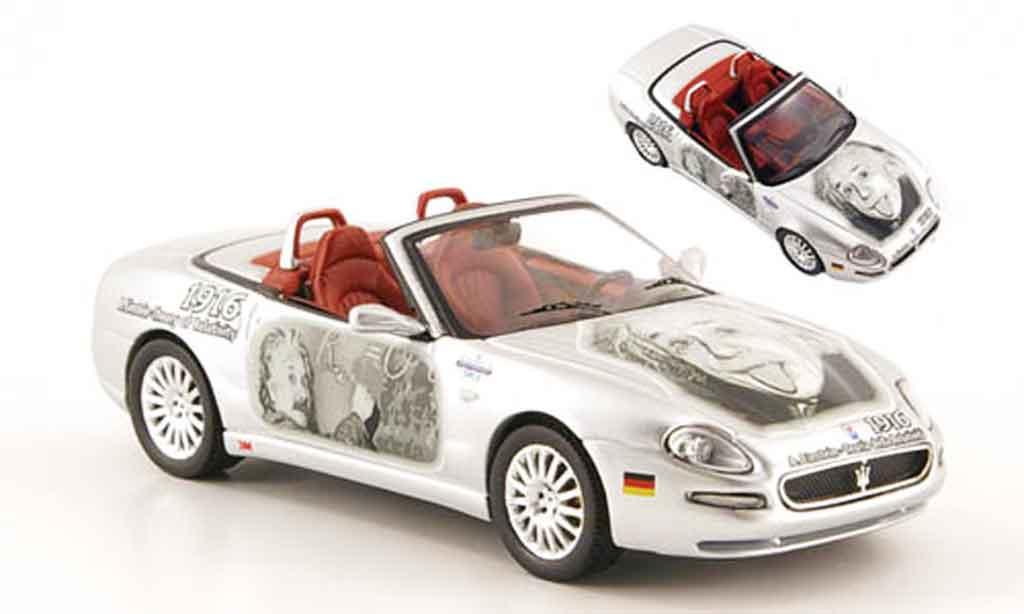 Maserati Cambiocorsa spyder 1/43 ixo albert einstein grise metallisee 2002 miniature
