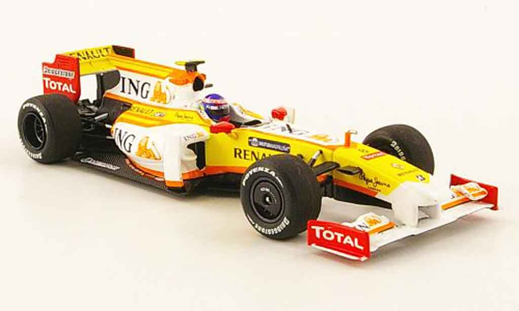 Renault F1 1/43 Minichamps r29 no.8 ing r.grosjean f1 team 2009 miniature