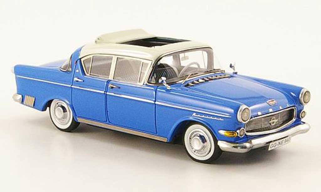 Opel Kapitan 1/43 Neo P2.5 bleu/blanche 1958 miniature