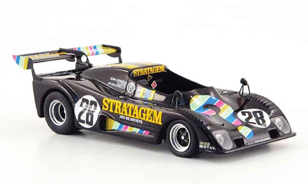 Lola T294 1/43 Bizarre ROC No.28 Stratagem 24h Le Mans 1977 miniature