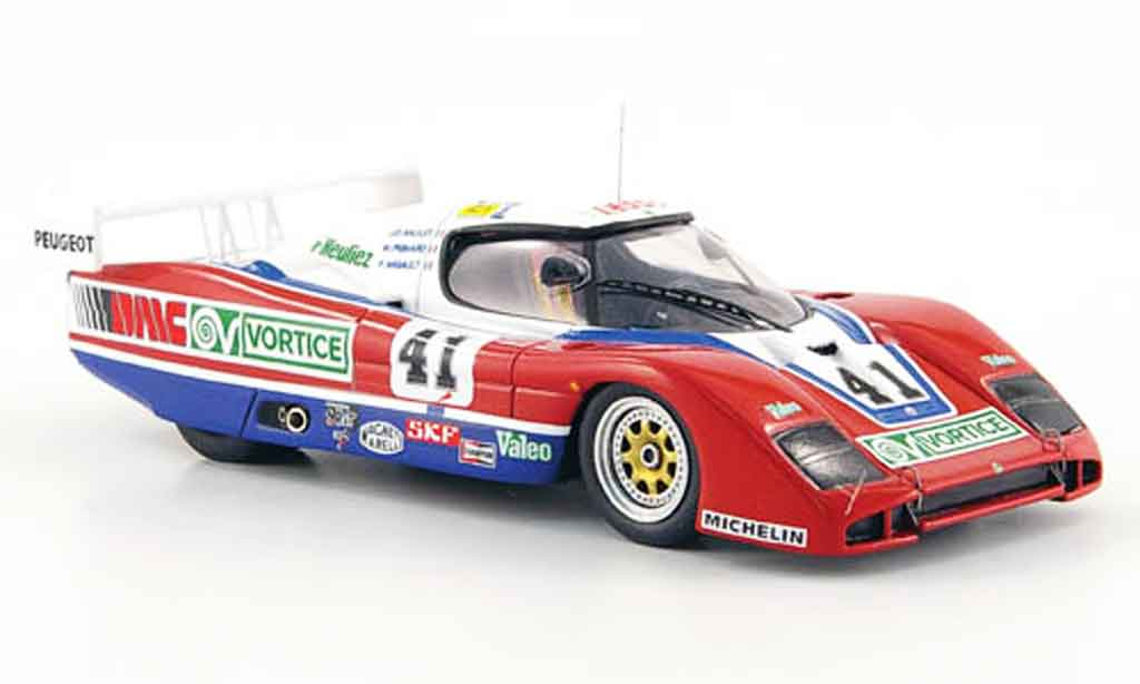 Peugeot WM 1986 1/43 Bizarre turbo no.41 24h le mans P85 miniature
