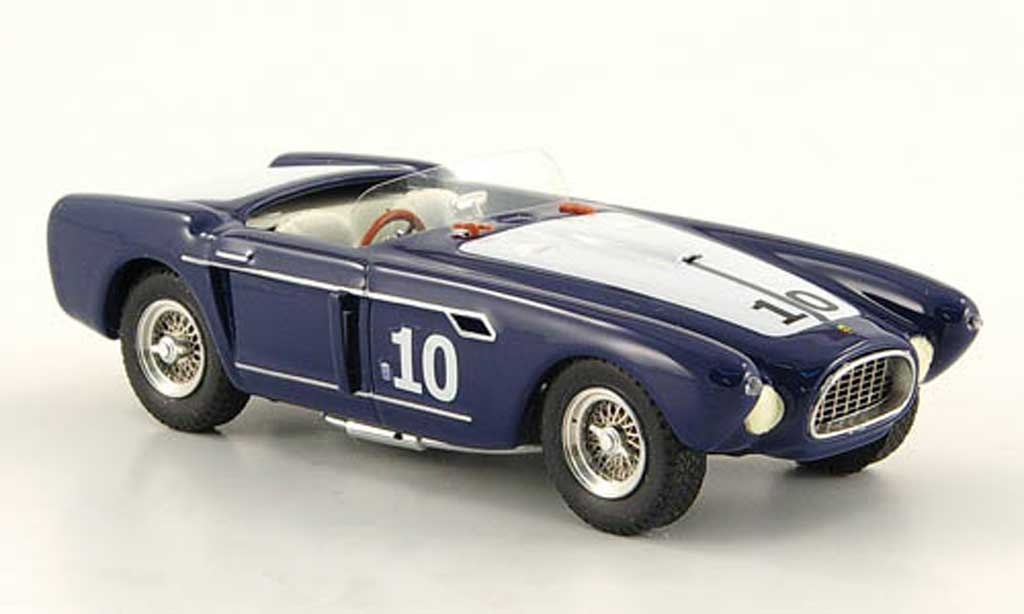 Ferrari 340 1/43 Art Model Mexico Spider No.10 Pebble Beach 1953 W.Spear miniature