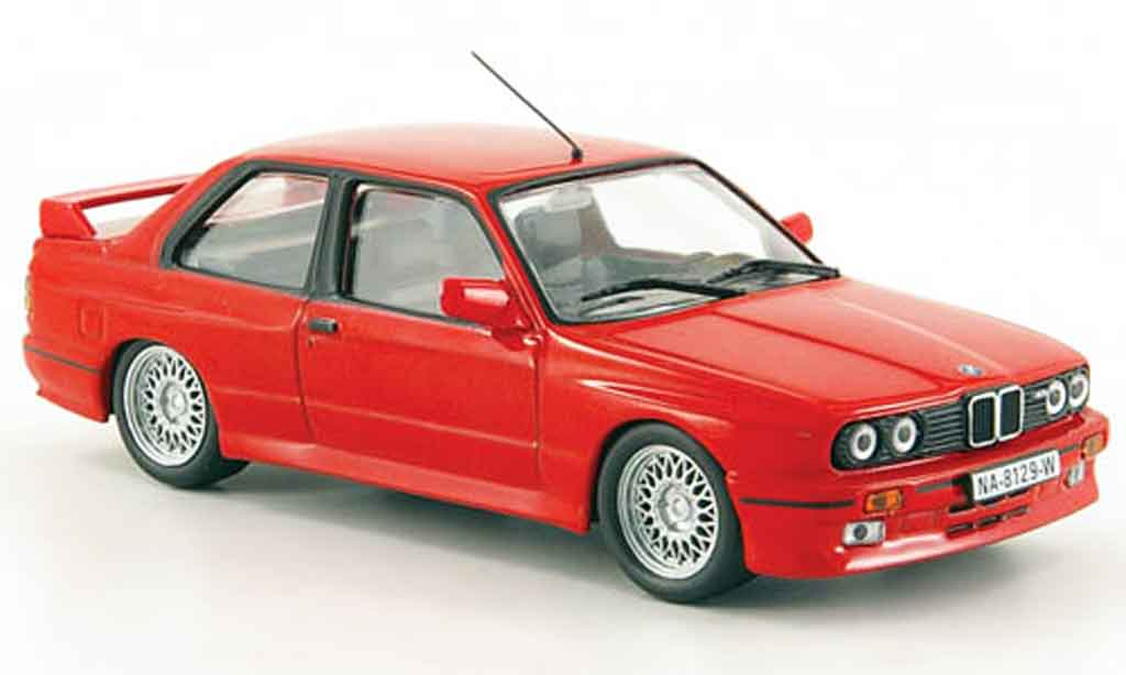 Bmw M3 E30 red 1988 MCW diecast model car 1/43 - Buy/Sell ...