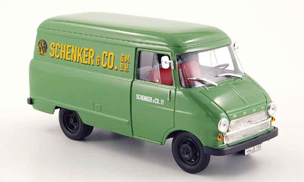 Opel Blitz 1/43 Bing a kasten schenker miniature