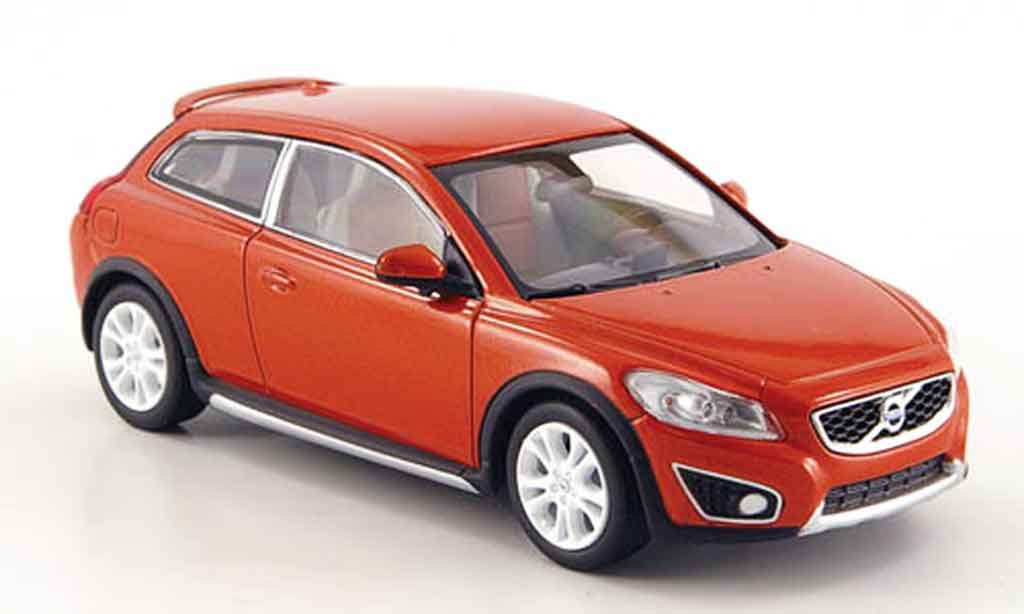 Volvo C30 1/43 MotorArt orange miniature