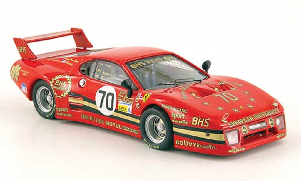 Ferrari 512 BB 1/43 Best 512 BB LM No.70 24h Le Mans  1982 Baird / Dieudonne / Libert miniature