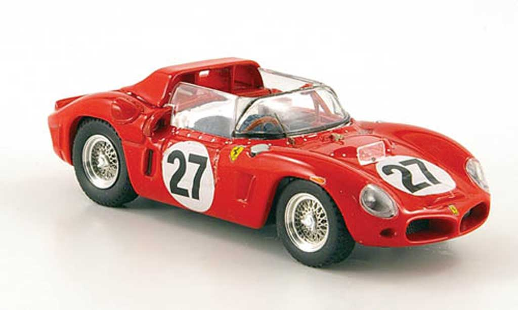 Ferrari Dino 268 1/43 Art Model SP No.27 24h Le Mans 1962 Scarfiotti / Baghetti miniature