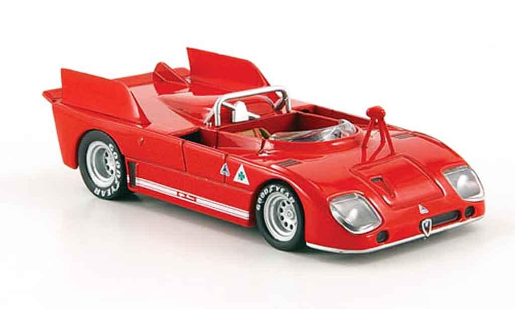 Alfa Romeo 33.3 1972 1/43 M4 3 tt prova miniature
