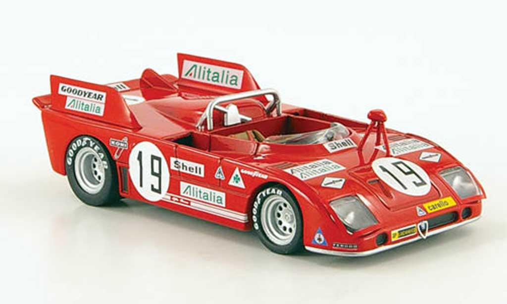 Alfa Romeo 33.3 1972 1/43 M4 TT No.19 24h Le Mans miniature