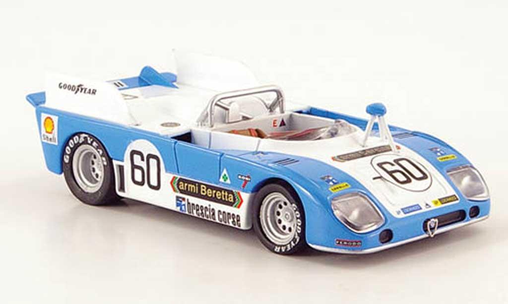 Alfa Romeo 33.3 1973 1/43 M4 TT No.60 24h Le Mans Facetti / Zeccoli miniature