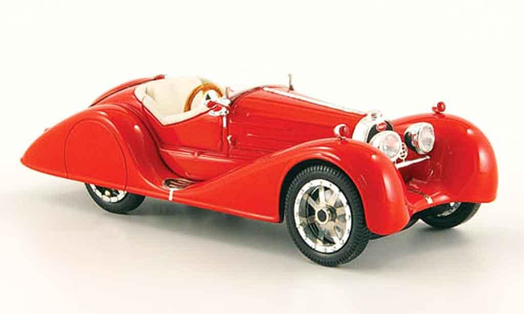 Bugatti 35 1/43 Luxcar b rouge 1935 miniature